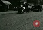 Image of horse drawn carriage Ypsilanti Michigan USA, 1923, second 7 stock footage video 65675059848