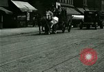 Image of horse drawn carriage Ypsilanti Michigan USA, 1923, second 8 stock footage video 65675059848