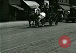 Image of horse drawn carriage Ypsilanti Michigan USA, 1923, second 9 stock footage video 65675059848