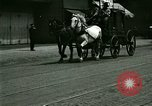Image of horse drawn carriage Ypsilanti Michigan USA, 1923, second 10 stock footage video 65675059848