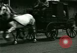 Image of horse drawn carriage Ypsilanti Michigan USA, 1923, second 12 stock footage video 65675059848