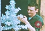 Image of troops celebrate Christmas Vietnam, 1968, second 8 stock footage video 65675059895