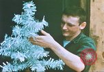 Image of troops celebrate Christmas Vietnam, 1968, second 9 stock footage video 65675059895