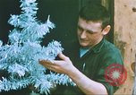 Image of troops celebrate Christmas Vietnam, 1968, second 10 stock footage video 65675059895