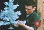 Image of troops celebrate Christmas Vietnam, 1968, second 11 stock footage video 65675059895