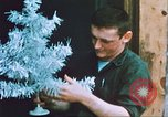 Image of troops celebrate Christmas Vietnam, 1968, second 12 stock footage video 65675059895