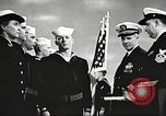 Image of graduation ceremony United States USA, 1956, second 9 stock footage video 65675059916