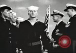 Image of graduation ceremony United States USA, 1956, second 10 stock footage video 65675059916