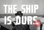 Image of launching a ship United States USA, 1943, second 12 stock footage video 65675059917