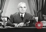 Image of Harry Truman Washington DC USA, 1951, second 8 stock footage video 65675059942