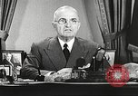 Image of Harry Truman Washington DC USA, 1951, second 5 stock footage video 65675059943