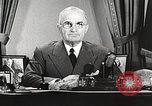 Image of Harry Truman Washington DC USA, 1951, second 8 stock footage video 65675059943