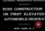Image of elevated highway New York United States USA, 1930, second 1 stock footage video 65675059948