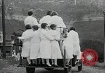 Image of female fire fighters Chalfont Pennsylvania USA, 1930, second 8 stock footage video 65675059952