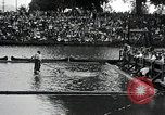 Image of logrolling Longview Washington USA, 1930, second 2 stock footage video 65675059954