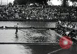 Image of logrolling Longview Washington USA, 1930, second 6 stock footage video 65675059954