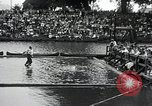 Image of logrolling Longview Washington USA, 1930, second 7 stock footage video 65675059954