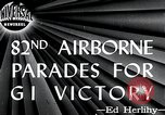 Image of 82nd Airborne Division New York City USA, 1946, second 2 stock footage video 65675059956