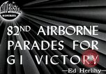 Image of 82nd Airborne Division New York City USA, 1946, second 4 stock footage video 65675059956