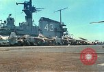 Image of USS Coral Sea (CVA-43) South China Sea, 1965, second 10 stock footage video 65675059975