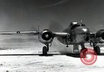 Image of B-25H Mitchell planes Utah Dugway Proving Ground USA, 1945, second 6 stock footage video 65675059994