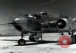 Image of B-25H Mitchell planes Utah Dugway Proving Ground USA, 1945, second 10 stock footage video 65675059994