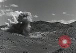 Image of bomb and rocket explosions Utah Dugway Proving Ground USA, 1945, second 11 stock footage video 65675059997