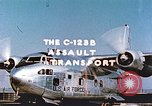 Image of C-123B assault transport aircraft Hagerstown Maryland USA, 1955, second 12 stock footage video 65675060008