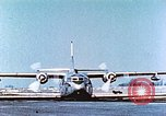 Image of C-123B assault transport aircraft Hagerstown Maryland USA, 1955, second 7 stock footage video 65675060009
