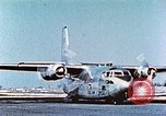 Image of C-123B assault transport aircraft Hagerstown Maryland USA, 1955, second 11 stock footage video 65675060009