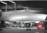 Image of B-36 Peacemaker aircraft Fort Worth Texas USA, 1949, second 1 stock footage video 65675060037