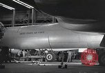 Image of B-36 Peacemaker aircraft Fort Worth Texas USA, 1949, second 4 stock footage video 65675060037