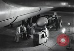Image of B-36 Peacemaker aircraft Fort Worth Texas USA, 1949, second 2 stock footage video 65675060038