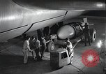 Image of B-36 Peacemaker aircraft Fort Worth Texas USA, 1949, second 4 stock footage video 65675060038
