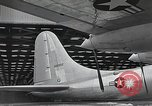 Image of B-36 Peacemaker aircraft Fort Worth Texas USA, 1949, second 4 stock footage video 65675060039
