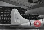 Image of B-36 Peacemaker aircraft Fort Worth Texas USA, 1949, second 5 stock footage video 65675060039