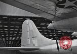 Image of B-36 Peacemaker aircraft Fort Worth Texas USA, 1949, second 9 stock footage video 65675060039