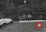 Image of United States and Russian officers Protivin Czechoslovakia, 1945, second 2 stock footage video 65675060046