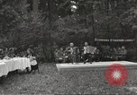 Image of United States and Russian officers Protivin Czechoslovakia, 1945, second 6 stock footage video 65675060046