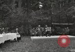 Image of United States and Russian officers Protivin Czechoslovakia, 1945, second 9 stock footage video 65675060046