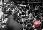 Image of shoe manufacturing plant United States USA, 1942, second 11 stock footage video 65675060053
