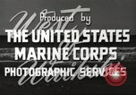 Image of United States Marine Corps Pearl Harbor Hawaii USA, 1947, second 11 stock footage video 65675060059