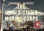 Image of Marine Corps Honor Guard New York City USA, 1946, second 6 stock footage video 65675060087