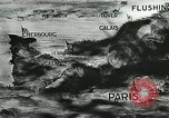 Image of German defenses on English Channel and Atlantic coast Normandy France, 1944, second 1 stock footage video 65675060091