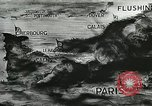 Image of German defenses on English Channel and Atlantic coast Normandy France, 1944, second 3 stock footage video 65675060091