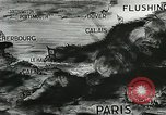 Image of German defenses on English Channel and Atlantic coast Normandy France, 1944, second 9 stock footage video 65675060091