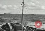 Image of Allied vessels in convoy Atlantic Ocean, 1944, second 3 stock footage video 65675060092