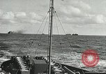 Image of Allied vessels in convoy Atlantic Ocean, 1944, second 4 stock footage video 65675060092