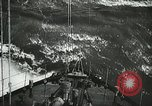 Image of Allied vessels in convoy Atlantic Ocean, 1944, second 7 stock footage video 65675060092