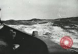 Image of Allied vessels in convoy Atlantic Ocean, 1944, second 9 stock footage video 65675060092